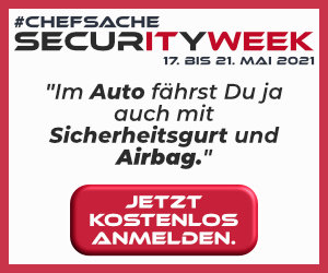 #Chefsache Securityweek