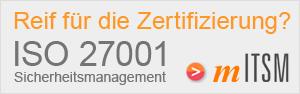 ISO 27001 Zertifizierung Audit  Überprüfung