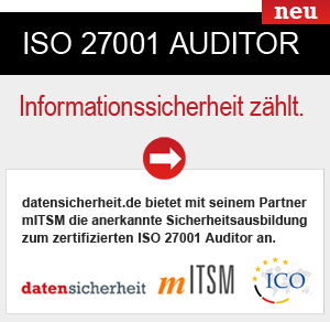 mITSM ISO 27001 Zertfifizierungs Audit