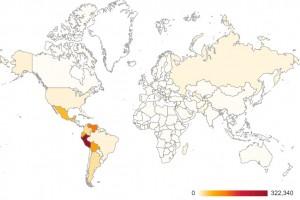 Retadup-Befall weltweit: Lateinamerika im Fokus