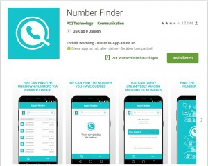 "Avast-Screenshot ""Number Finder"""