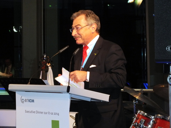 Bitkom Executive Dinner 2014: Prof Dieter Kempf