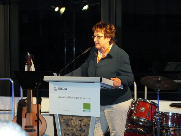 Bitkom Executive Dinner 2014: Brigitte Zypries