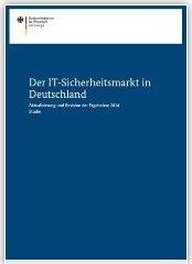 BMWI-Studie 2014 - IT-Sicherheitswirtschaft in Deutschland
