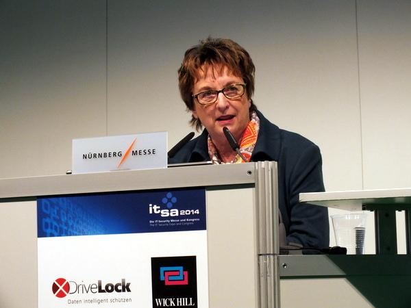 IT-SIcherheit in der Wirtschaft 2014 -  Brigitte Zypries