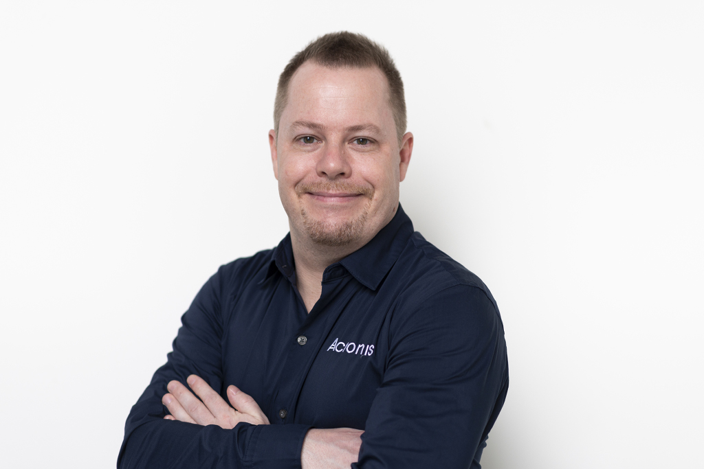 Candid Wüest, Cyber Protection-Experte bei Acronis