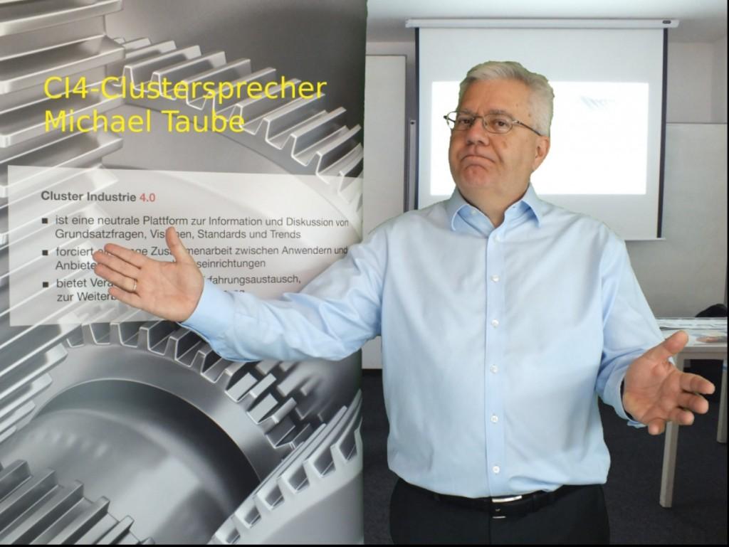 CI4-Sprecher Michael Taube