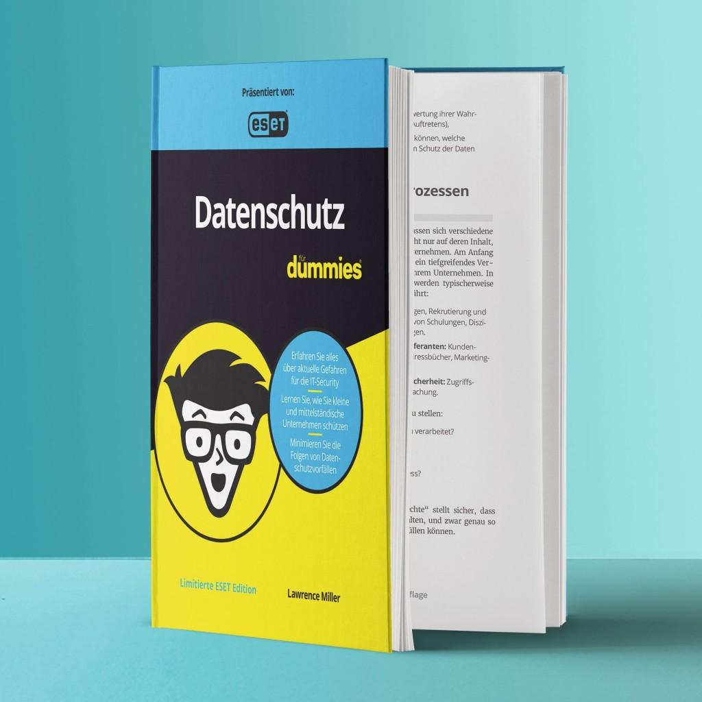 """""""Datenschutz für Dummies"""" von Lawrence Miller"""
