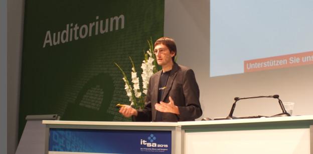 it-sa 2015: Rede Hartmut Goebekl, digiitalcourage e.V.