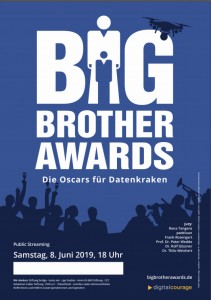 BigBrotherAwards 2019