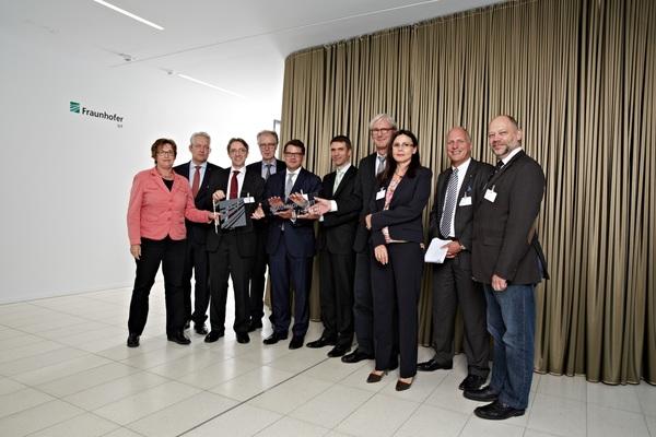 Einweihungsfeier des neuen Institutsgebäudes des Fraunhofer SIT