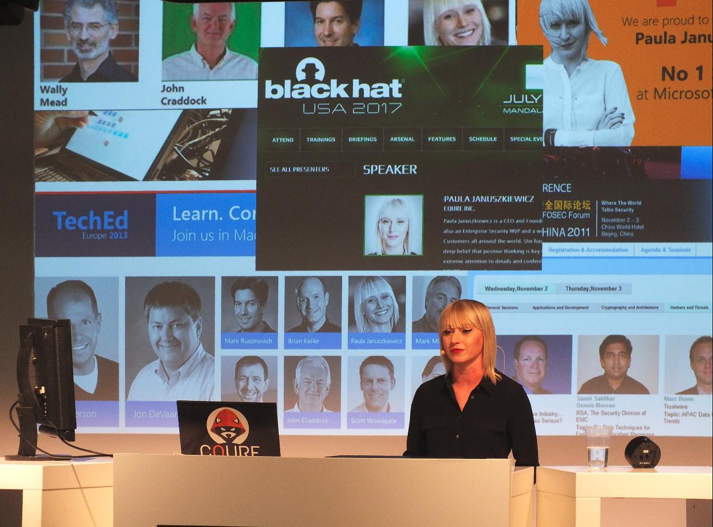 Paula Januszkiewicz: weltweit aktive IT-Sicherheitsexpertin