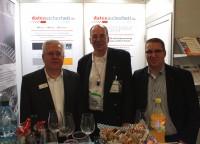 """ds-Stand auf der """"it-sa 2019"""" mit Michael Taube, Dirk Pinnow & Carsten Pinnow"""