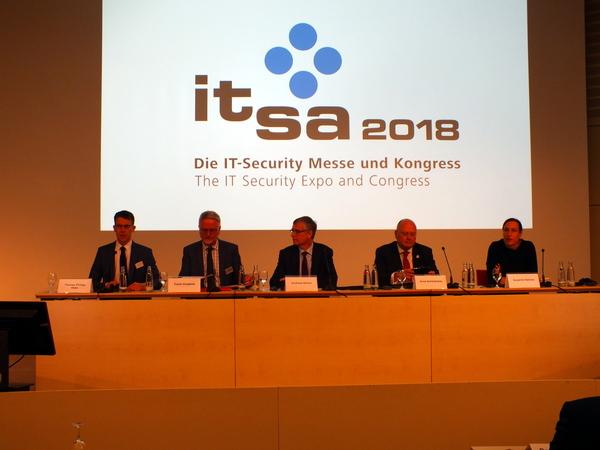 it-sa 2018 Eröffnungs-Pressekonferenz