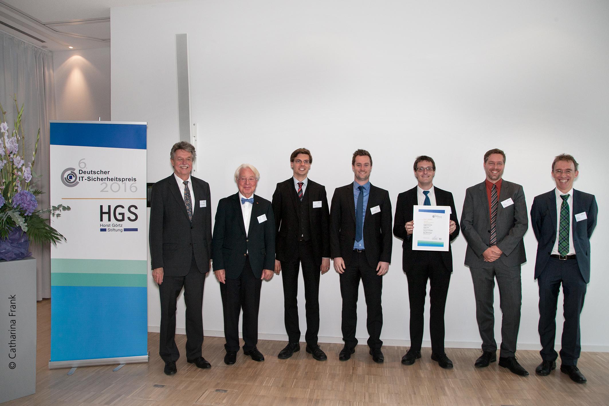 """Verleihung des """"Deutschen IT-Sicherheitspreises 2016"""""""