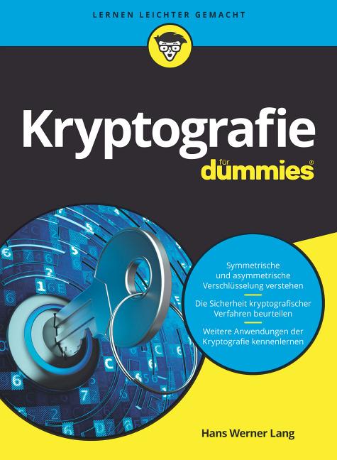 """Buch """" Kryptografie für Dummies"""""""