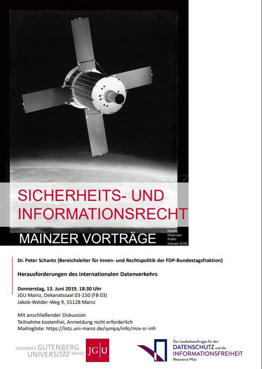 Mainzer Vorträge zum Sicherheits- und Informationsrecht