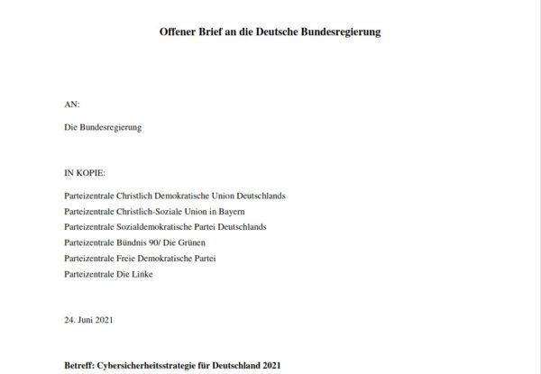 offener-brief-bundesregierung-cyber-sicherheitsstrategie-2021