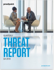 """QUARTERLY THREAT REPORT Q4 2018"""