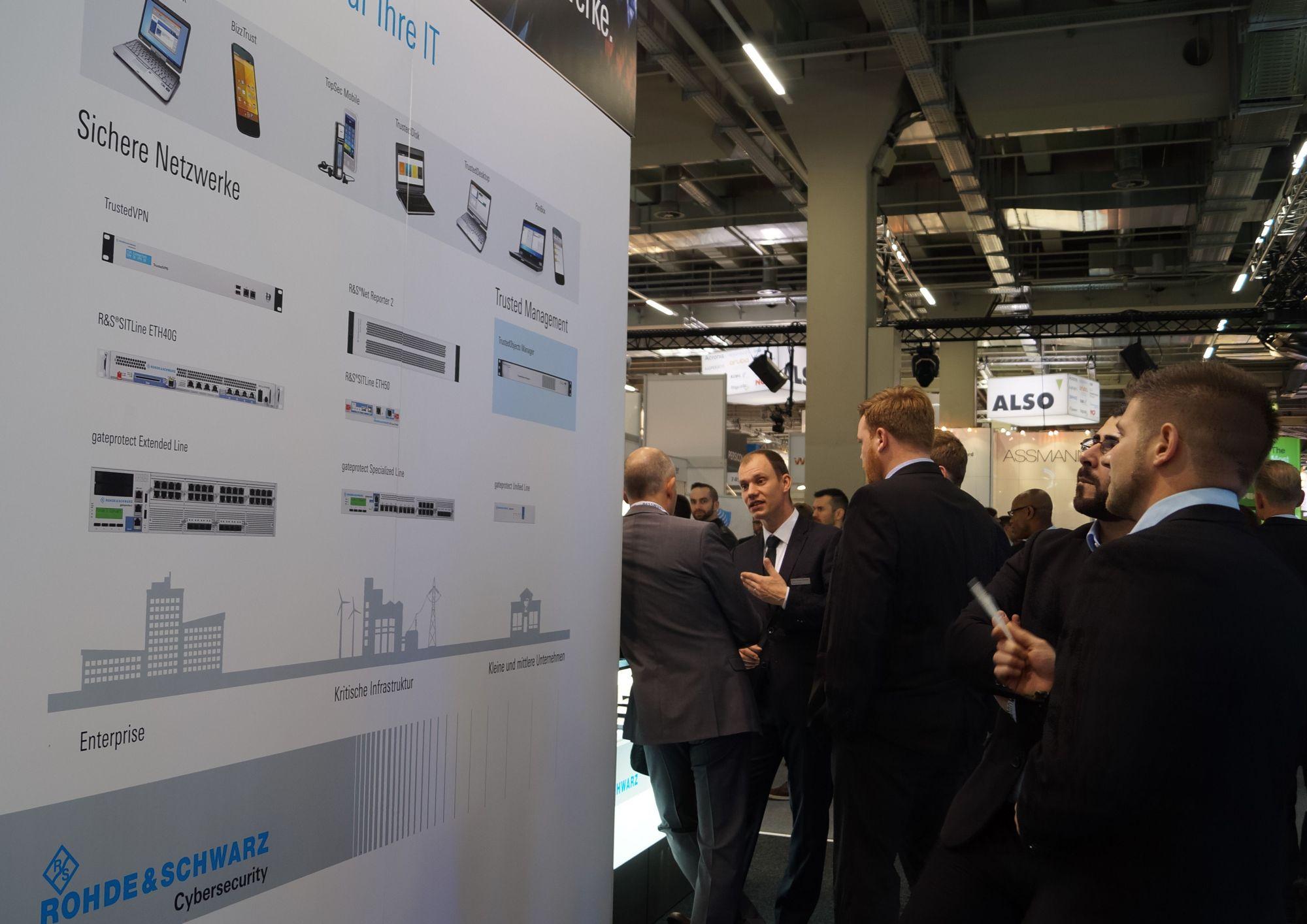 Rohde & Schwarz Cybersecurity GmbH, it-sa 2016