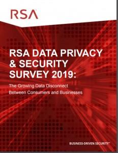 RSA DATA PRIVACY & SECURITY SURVEY 2019
