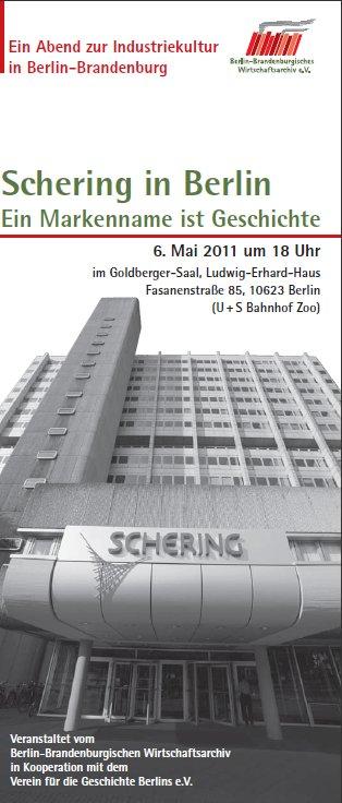 Faltblatt: BBWA e.V., Berlin (mit Foto aus dem Schering-Archiv, Bayer AG)