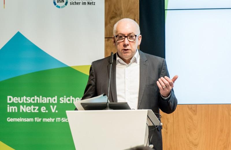 Staatssekretär Gerd Billen, DsiN-Breakfast, 21.03.2018