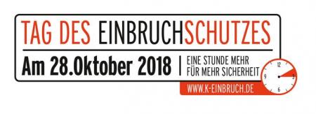 """""""8. Tag des Einbruchschutzes"""" am 28. Oktober 2018"""